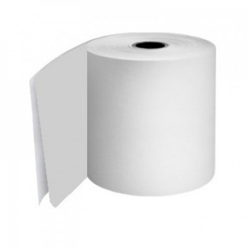 76mm 2 Ply Rolls White/White Boxed 20s - M054