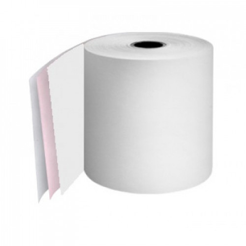 57 x 57 x 12.7mm Core 3 Ply Rolls White/Pink/White Boxed 20s - M061
