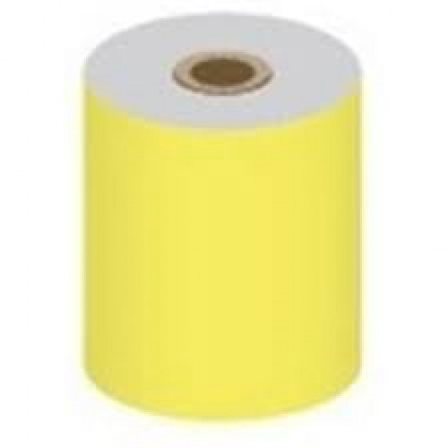 57 x 30 x 12.7mm Core Yellow BPA Free Thermal Till Rolls Boxed 20s - TH026Y