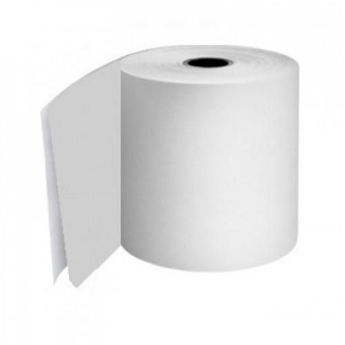 114 x 80 x 12.7mm Core 2 Ply Rolls White/White Boxed 10s - M107